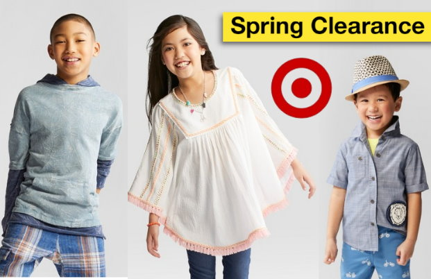 08f9826f3e4 Target  Get an Extra 20% Off Clearance Kids Clothing - TotallyTarget.com
