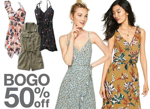 Target B1g1 50 Off Womens Dresses Rompers Jumpsuits Plus Extra