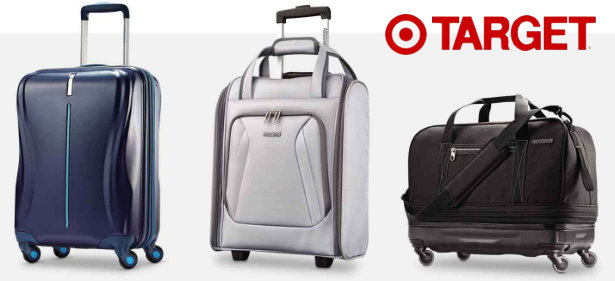 b774963c1a Thru Saturday, June 9th, you can save an extra 20% Off American Tourister  Travel Products online only at Target.com. The sale includes all types of  luggage ...