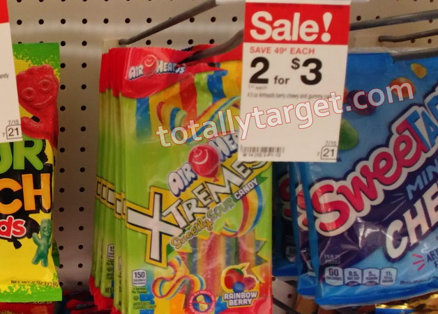Roundup of Nice Candy Deals at Target- Save Big on Airheads
