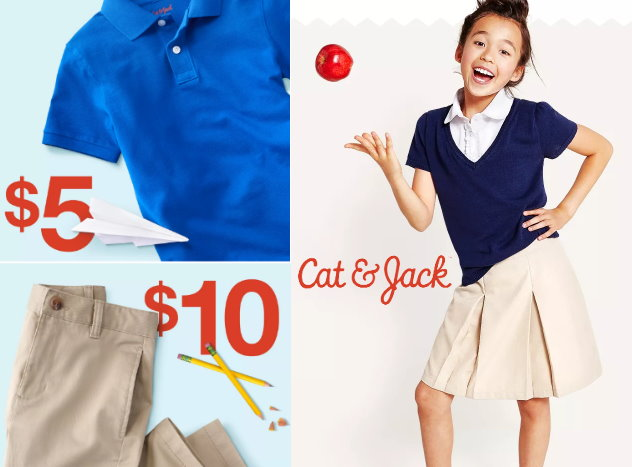 Target School Uniforms Sale Polos Starting At 450