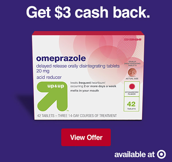 graphic about Prilosec Coupons Printable Easy named Receive $3 Income Back again Upon Up Up Omeprazole Heartburn Reduction Currently