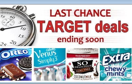 last chance target deals valid thru saturday, 8/25   totallytarget.com