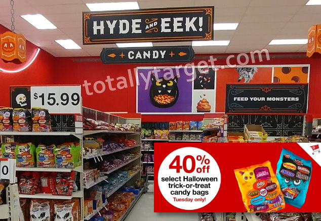 In Addition, Thru Today Only, 9/18, You Can Also Save 40% On Value Size  Trick Or Treat Candy Priced $9.99 U0026 $15.99 In Stores Only Using This  High Value ...