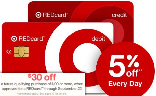 great upcoming discounts for both new existing target redcard