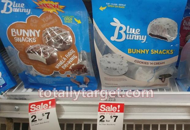 Save Up To 70 On Blue Bunny Ice Cream Treats Totallytargetcom