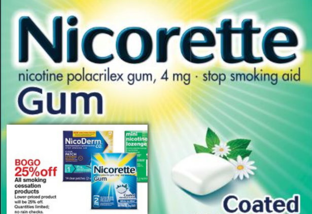 graphic regarding Nicorette Printable Coupon known as Contemporary Substantial-Truly worth $10/1 Nicorette Gum Printable Coupon