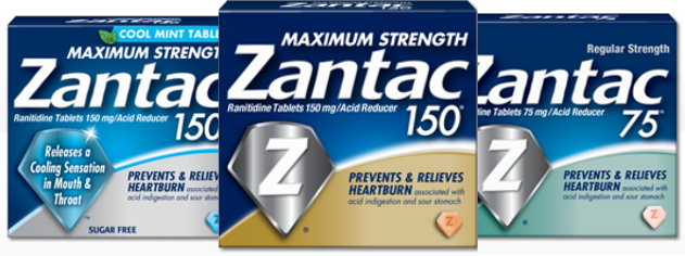 picture relating to Zantac Printable Coupon named Refreshing Higher-Well worth $4/1 Zantac Coupon towards Help save 50