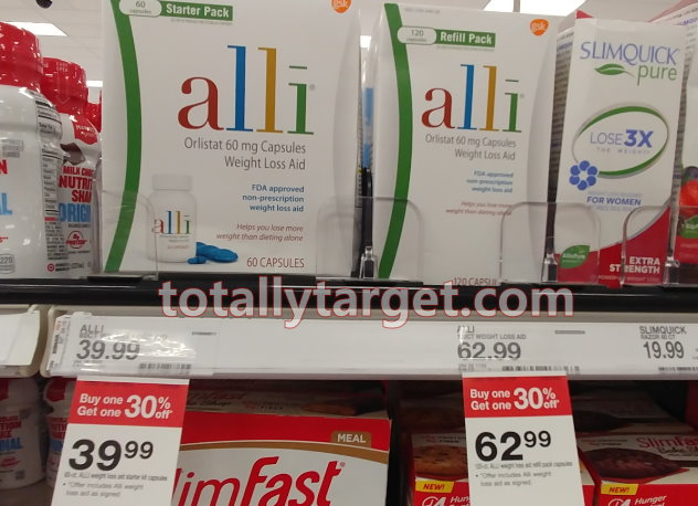 picture about Alli Coupons Printable titled Fresh Stack upon upon Alli Pounds Reduction Merchandise + B1G1