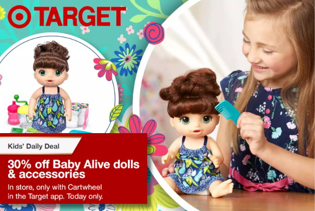 Save Up To 55 On Baby Alive Toys At Target Today Totallytarget Com