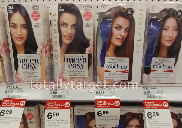 image relating to Printable Hair Color Coupons called $5 within Fresh Clairol Hair Colour Discount codes + Reward Card Bundle