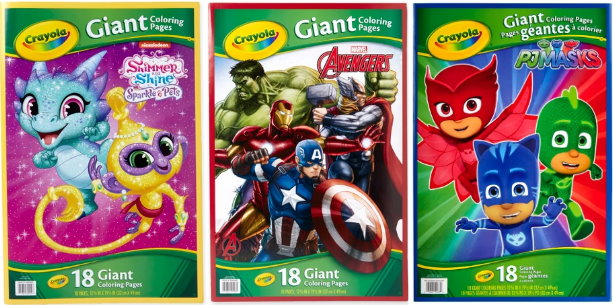 44 Crayola Giant Coloring Pages Target Pictures