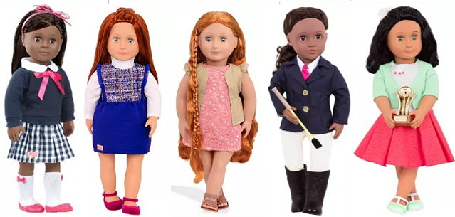 Save Up To 55 On Our Generation Dolls L O L Surprise Toys At