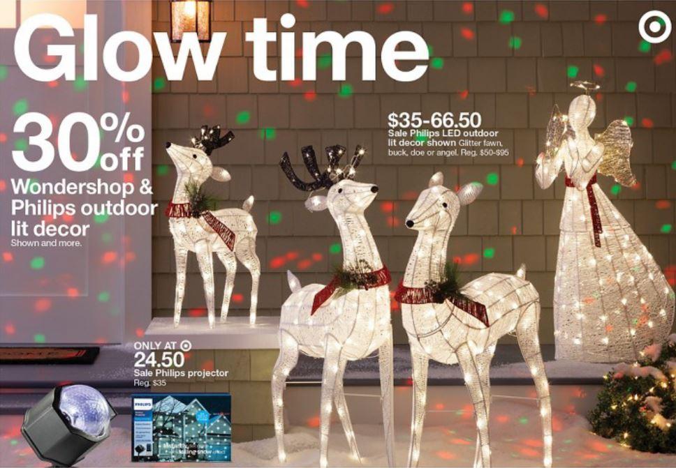 Big Savings On Holiday Projection Lights At Target