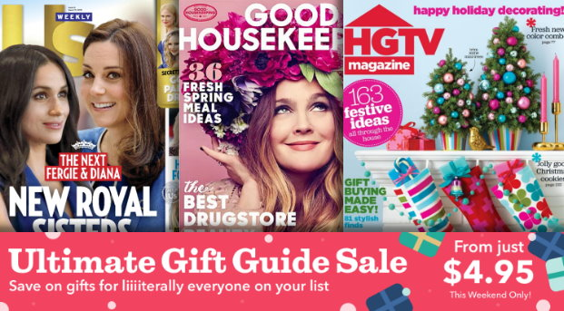 This weekend you can grab some nice prices on subscriptions to TONS of titles over on Discount Mags. Save on Good Housekeeping, Us Weekly, Women's Health, ...