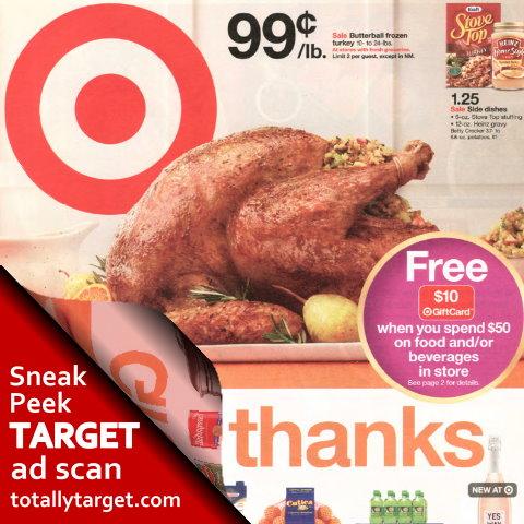 turkey coupon target