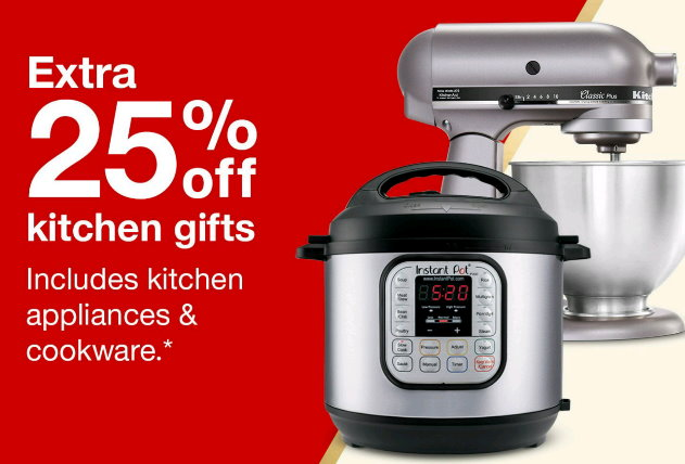 Target Kitchen Appliances | Get An Extra 25 Off All Kitchen Appliances At Target Thru 12 9