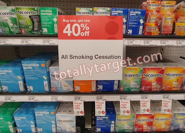 picture relating to Nicorette Printable Coupon named Contemporary Higher-Expense $15 Nicorette Coupon + B1G1 Package deal