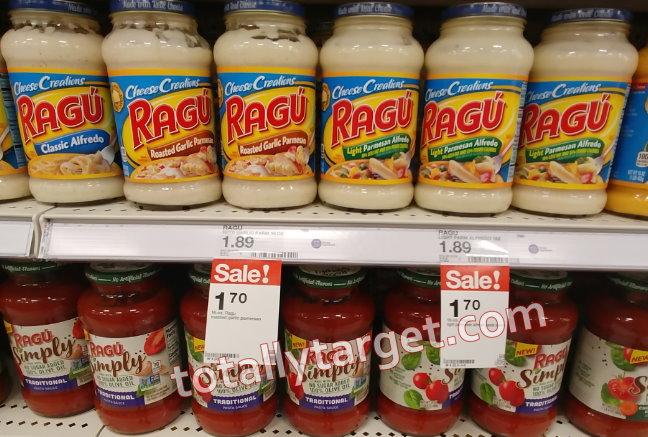 image about Ragu Printable Coupons identified as Clean $1/2 Ragu Pasta Sauce Printable Coupon + Sale