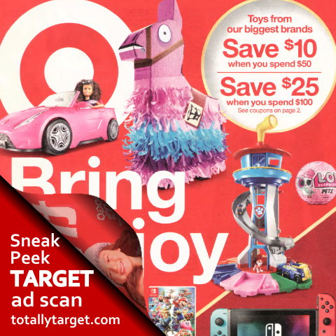 Sneak Peek Target Ad Scan For Week Of 12 9 12 15 Totallytarget Com