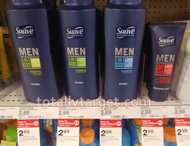 6ad48c35305 You can also get some nice savings on Suave Men s Hair care with a rebate…. DEAL  IDEA  Buy 4 Suave Men s ...