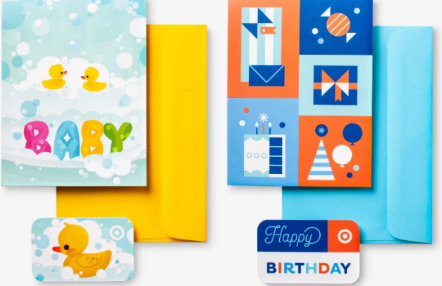 Get A FREE Greeting Card Or Gift Bag With Target Purchase Both In Stores Online