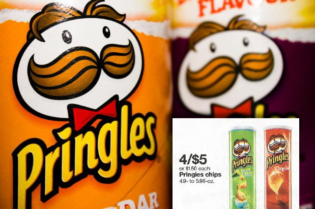photograph regarding Pringles Printable Coupons titled Fresh Uncommon Printable Coupon for Pringles Chips \u003d $1 at