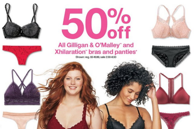 e0f8df7e93e3f 50% Off All Gilligan   O Malley And Xhilaration Bras