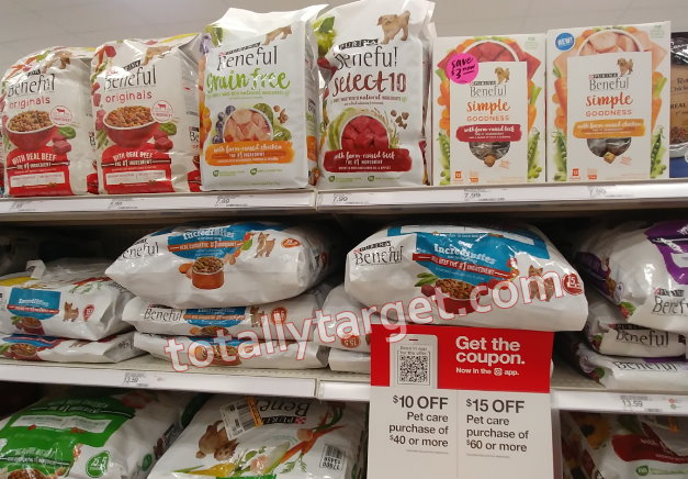 photograph relating to Pet Supermarket Printable Coupon called In excess of $6.00 in just Fresh new Printable Beneful Canine Meals Discount coupons toward