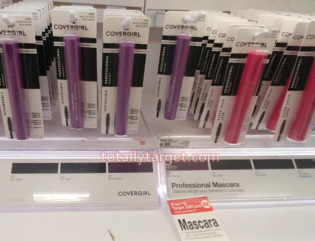 0401a3e9f89 FREE $5 Target Gift Card wyb 2 Mascara = Great Deals on Maybelline,  CoverGirl & More as Low as 49¢