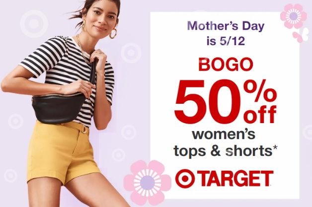 37d73856d1 B1G1 50% Off Women's Tops & Shorts at Target - TotallyTarget.com