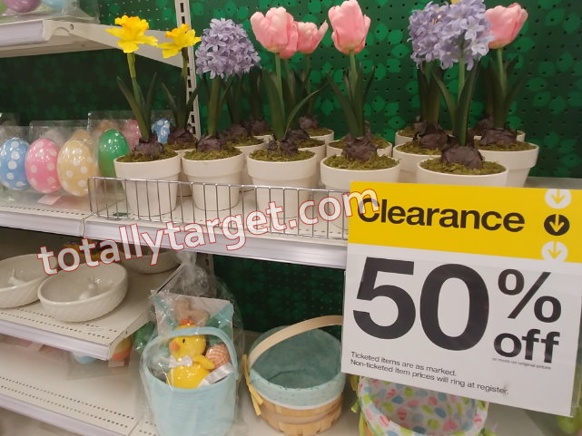 Target Easter Clearance Now Up To 50 Off Totallytarget Com