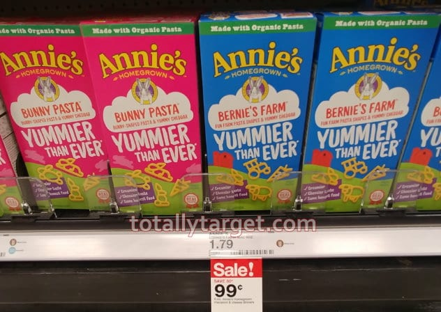 Great Target Deals on Annie's Mac & Cheese and Snacks