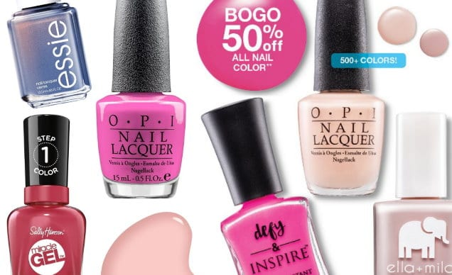 Nice Target Deals On Nail Polish In Stores Online This