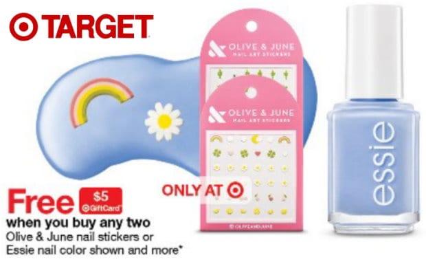 5 Target Gift Card Wyb 2 Essie Nail Polish Or Olive June