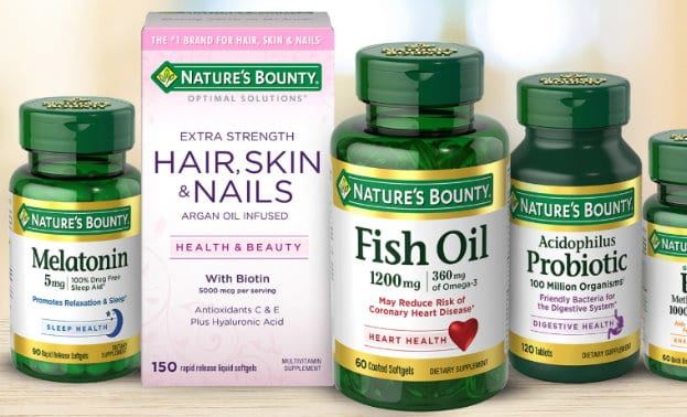 image regarding Nature's Bounty Coupon Printable $5 named Clean Pink Plum Coupon codes for Natures Bounty Added