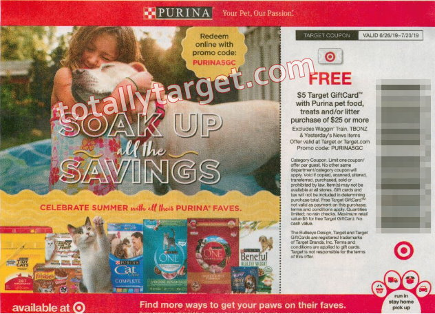 Sunday Coupon Insert Preview For 6 30 Plus Upcoming Purina Target Coupon For Double Dips Totallytarget Com