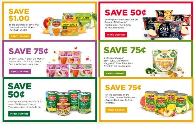 photo regarding Del Monte Printable Coupons named Fresh Del Monte Printable Coupon codes + Awesome Price savings at Emphasis