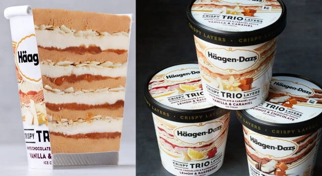 photo regarding Haagen Dazs Printable Coupon titled Fresh new Large-Importance $1.50/1 Häagen-Dazs Trio Ice Product Coupon