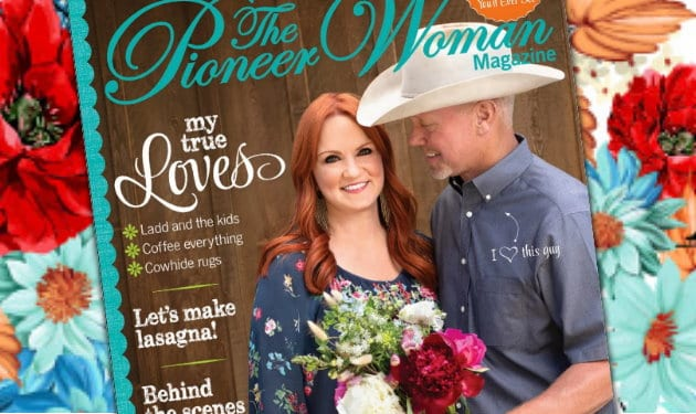 Photo of the cover of The Pioneer Woman Magazine
