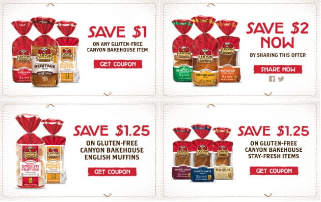 graphic about Gluten Free Coupons Printable identify Fresh new Canyon Bakehouse Gluten-Absolutely free Printable Discount codes towards Stack