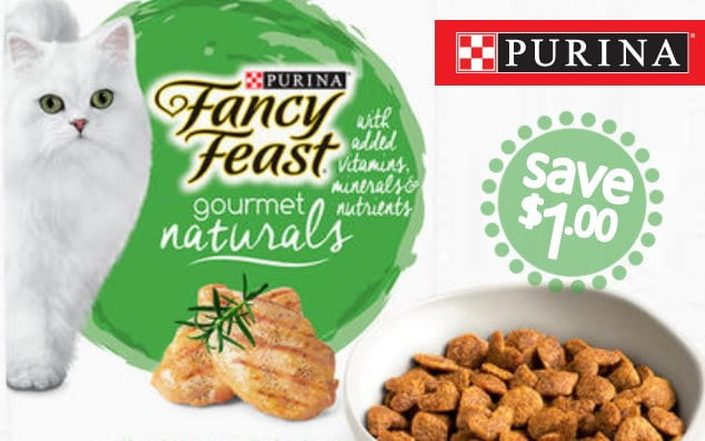 photograph regarding Cat Litter Printable Coupons identified as $3 inside of Refreshing Purina Extravagant Feast Tidy Cats Printable Discount codes