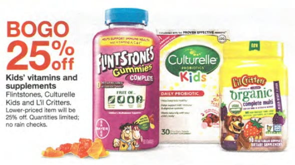image about Organic Printable Coupons referred to as $6.00 within Clean Printable Coupon codes for Flintstones Lil