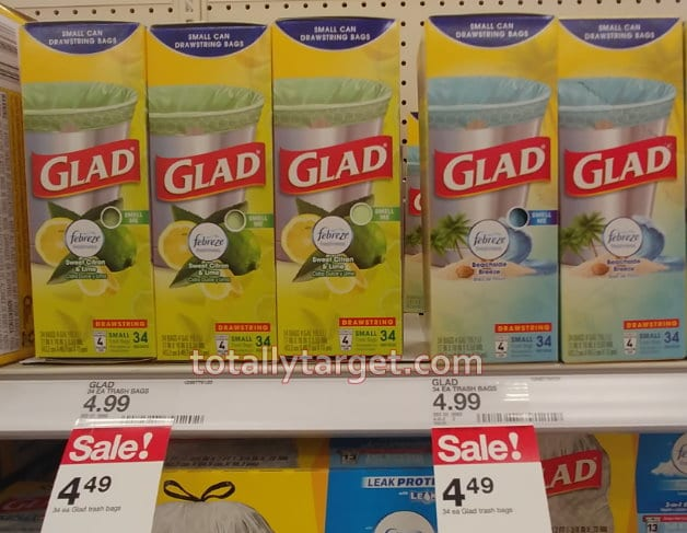 New Glad Trash Bags Coupons Nice Stock Up Deal At Target Totallytarget Com