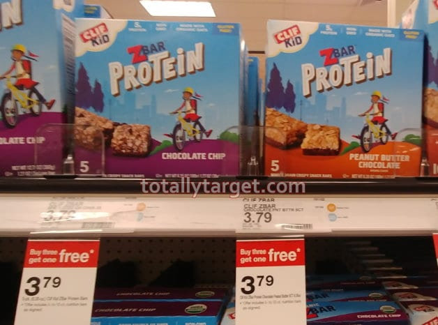 New B3G1 FREE Target Deal on Kids' Nutrition & Snack Bars
