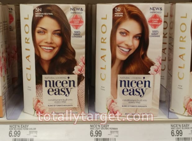 Photo of products that qualify for Clairol printable coupons