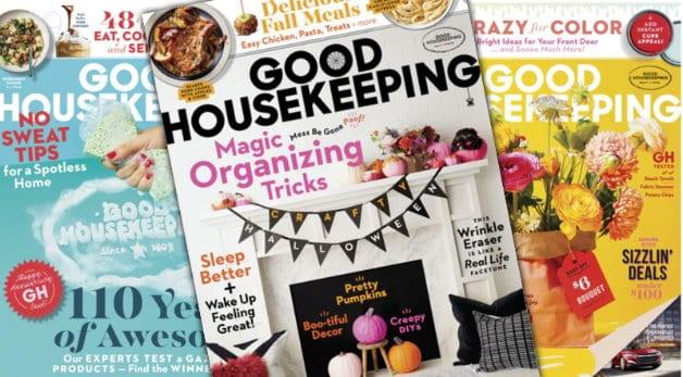 Photo of Good Housekeeping Magazine covers
