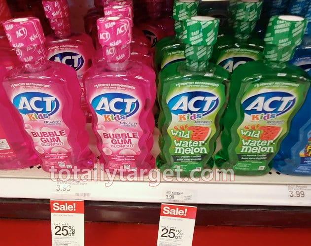 Act Kids Mouthwash