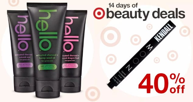 Daily Target Beauty Deal Save 40 On Hello Toothpaste Moon
