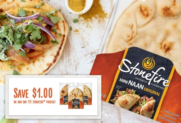 New Stack on Stonefire Flatbread to Save Close to 50% at Target